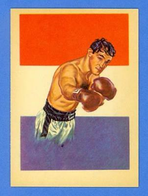 Rocky Marciano - Brockton Blockbuster 1956 Topps R749 Adventure #44 - Mint!!!