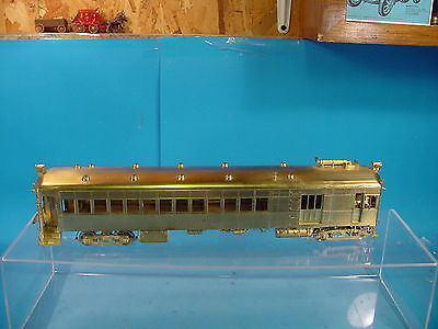 Dl O Scale Brass 2 Rail Ghb Brill Model 250 Gas Electric Doodlebug Version 1  B
