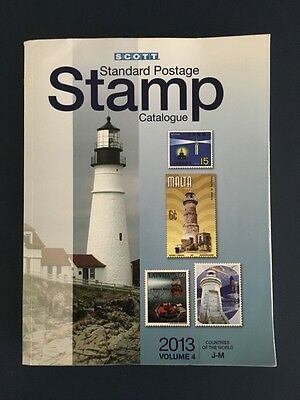 2013 Scott stamp catalogue Volume 4 J-M