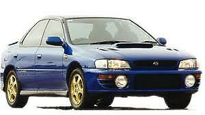 MANUALE OFFICINA SUBARU IMPREZA my 1997 - 1998 WORKSHOP MANUAL mail
