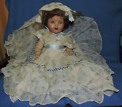 all original composition Australian Watsons doll comes with original mohair wig