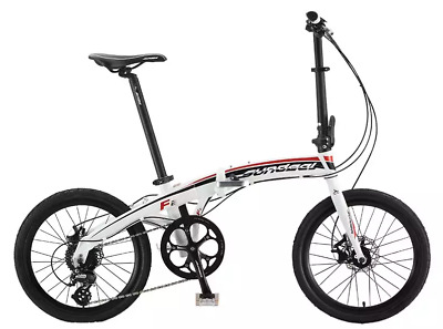 "Sundeal F2 Folding City Travel Alloy Bike 20"" Disc Brake 8 Shimano MSRP $469 NEW"