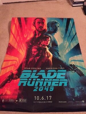 Blade Runner 2049 Original DS Rolled Movie Poster 27x40 NEW 2017 Gosling Ford