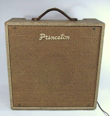 Vintage Princeton Tremolo Guitar Amplifier Sound Projects Co. Chicago Rare