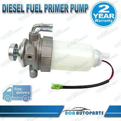 Diesel Fuel Primer Pump Assembly Rodeo TF TFR55 TFS25 2001-2002 4JH1TC 3.0L