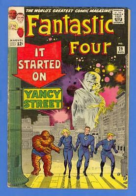 Fantastic Four #29 – Marvel (1964) – Lee Story Kirby Art – The Watcher!
