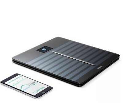 Withings Body Cardio Heart Health Body Composition WiFi Scale Black Brand New