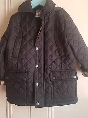 Burberry Kids quilted jacket (genuine) 6yrs