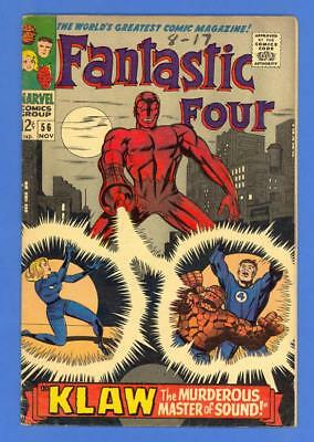 Fantastic Four #56 – Marvel (1966) – 2Nd Appearance Of The Klaw!