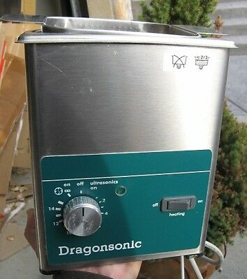 Dragonsonic Elma LC 20/H Ultrasonic Cleaner With Heater German Made