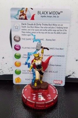 Marvel Heroclix Avengers Assemble #65 Black Widow Chase