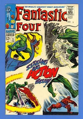 Fantastic Four #71 – Marvel (1968) – The Mad Thinker Android Appearance!