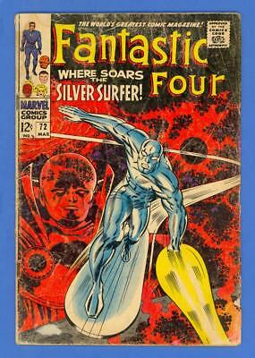 Fantastic Four #72 – Marvel (1968) – Where Soars The Silver Surfer!