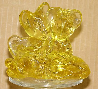 Imperial Glass Mouse Lovers Golden Color