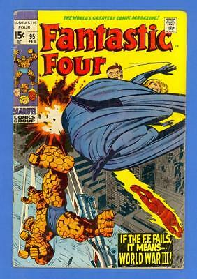 Fantastic Four #95 – Marvel Comics (1970) – 1St App Of The Monocle!