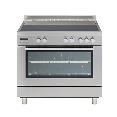 Euro 90cm Stainless Steel Electric Ceramic Top Stove - Model: EE900GSXS
