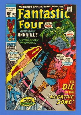 Fantastic Four #109 – Marvel Comics (1971) – Annihillus!