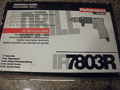 "INGERSOLL RAND IR 7803R 1/2"" Heavy-Duty Air Reversible Drill"