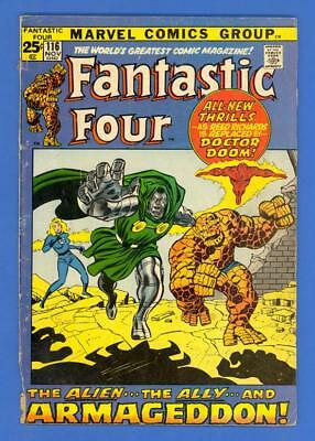Fantastic Four #116 – Marvel Comics (1971) – Doctor Doom!