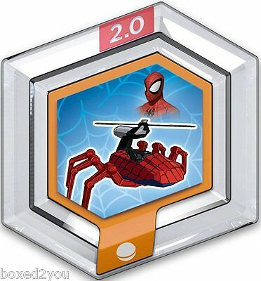 Disney Infinity Wave 2.0  Power Disc MARVEL SUPER HEROES SPIDER COPTER - NEW