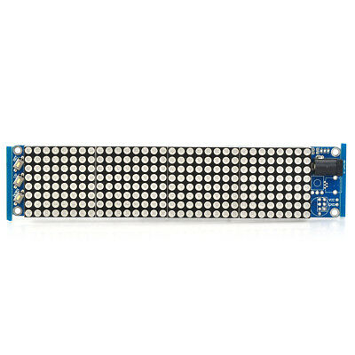 Red LED Lattice Clock HT1632C Driver with MCU & Support Secondary Development
