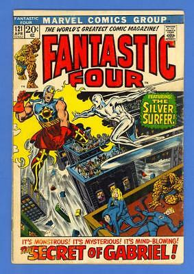 Fantastic Four #121 – Marvel Comics (1972) – Silver Surfer – Galactus!