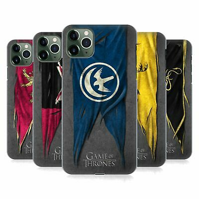 OFFICIAL HBO GAME OF THRONES SIGIL FLAGS HARD BACK CASE FOR APPLE iPHONE PHONES