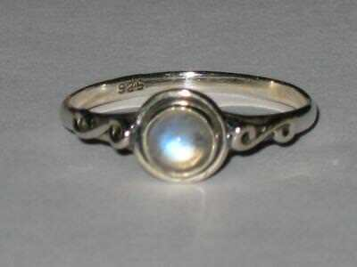 Moonstone Ring 925 9 Witch Estate FRESH START NEW BEGINNINGS GOOD THINGS COMING