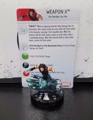 Marvel Heroclix Uncanny X-Men #66 AoA Weapon X Chase