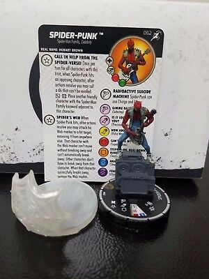 Marvel Heroclix Superior Foes of Spider-Man #62 Spider Punk Chase