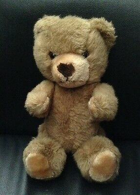 """Jointed Posable Brown Stuffed Plush Teddy Bear 11"""""""