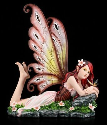 Big Elf Figurine - Annabelle Lying Down - Fairy Statue Fantasy