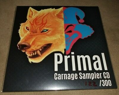 New Primal Carnage Sampler Cd Insane Clown Posse Icp Only 300 Made Coc Show