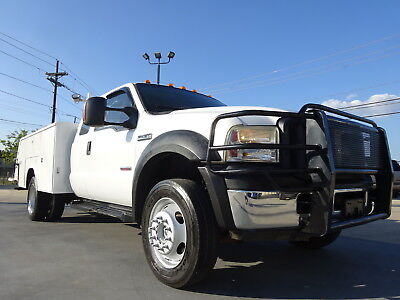 2007 Ford F-450 XLT EXT.CAB DIESEL 4X4 DUALLY 2007 FORD F450 XLT V8 DIESEL 4X4 AUTO DUALLY UTILITY BED DRIVES GREAT CARFAX