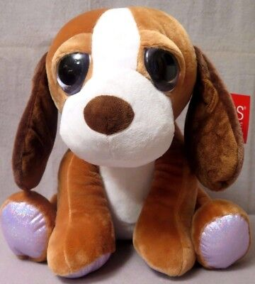 "Little Peeper's By Russ ""Big Eyes"" Brown Dog ""BAXTER"" Large/ SUPER CUTE NEW"
