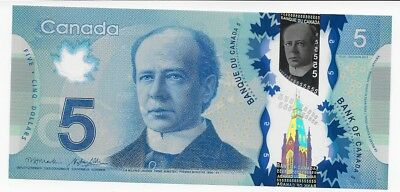 2013 $5 Polymer Note -  Choice UNC