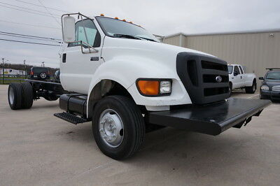 2005 Ford Other XL SINGLE CAB 2005 FORD F650 XL DIESEL 2WD 5 SPEED MANUAL CAB&CHASSY DUALLY LOW MLS CARFAX TX