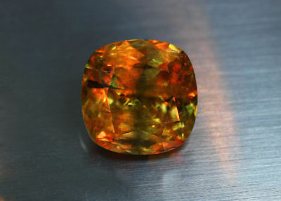 40.69 Cts_World Gem Collectors Gemmy_100 % Natural Color Change Diaspore_Turkey