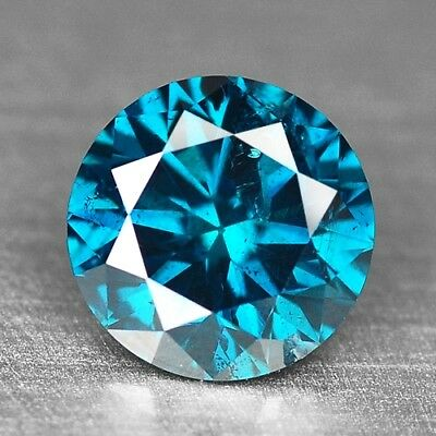 0.44 Cts RARE SPARKLING TITANIC BLUE COLOR NATURAL LOOSE DIAMONDS