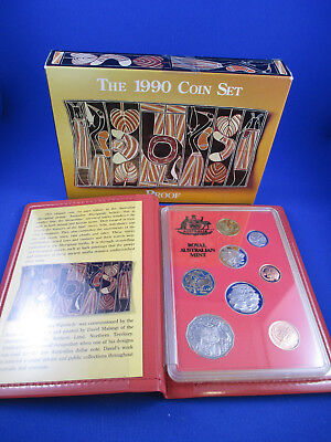1990 Australian RAM PROOF COIN SET. Excellent set all round. Get in Quick!!