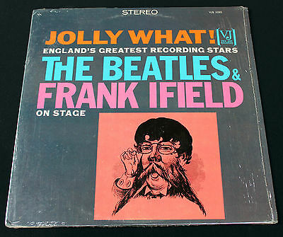 Beatles & Frank Ifield On Stage: Jolly What! Authentic Vee Jay 1085! Stereo! M-!