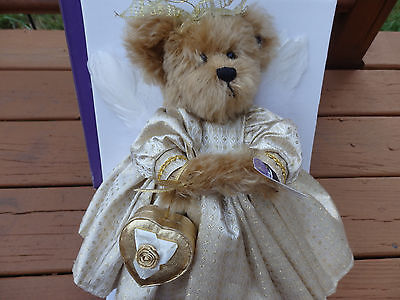 Annette Funicello Goldie Mohair Bear MINT! NIB! Never Displayed ##9846 of 20000!