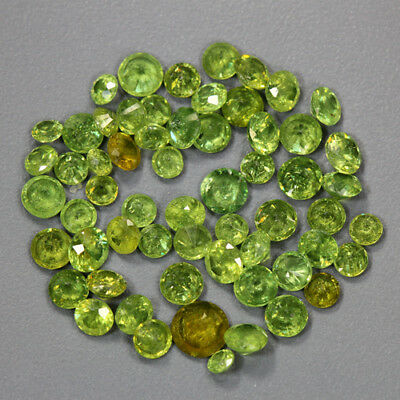 10.78 Cts_Stunning Very Rare Collection_100 % Natural Demantoid Garnet_Russia