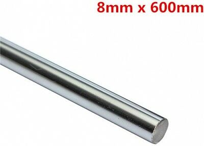 OD 8mm x 600mm Cylinder Liner Rail Linear Shaft Optical Axis