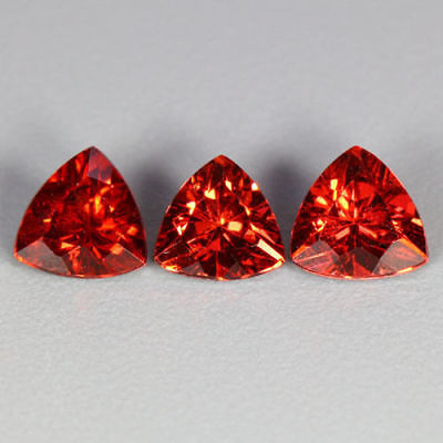 1.65 Cts~Shimmering Top Red~Matching Set~100 % Natural Pyrope Garnet~Sri Lanka