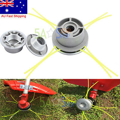 New Alloy Line Trimmer Head Whipper Snipper Brushcutter Brush Cutter Universal