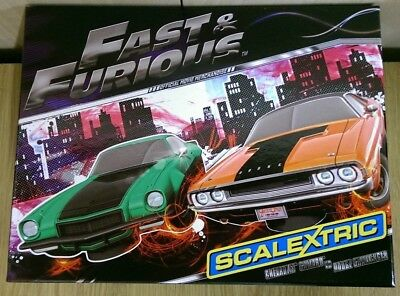 SCALEXTRIC C3373A Fast & Furious Ltd Edition No. 3000 of 3000
