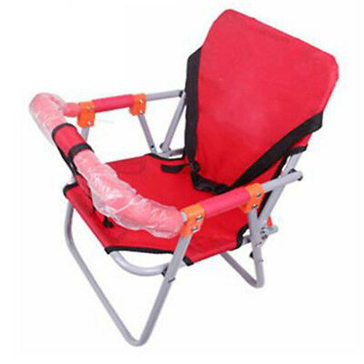 Red Safe Comfortable Practical Front Folding Baby Seat for Pedal Motorcycle