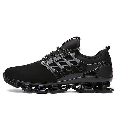Mens Fashion Walking Running Shoes Non Slip Shock Absorb Sports Trainers Shoes