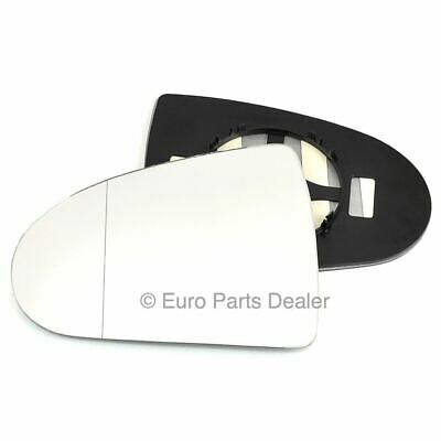 plate Left side Wide Angle Wing mirror glass for Mitsubishi Colt 04-12 Heated